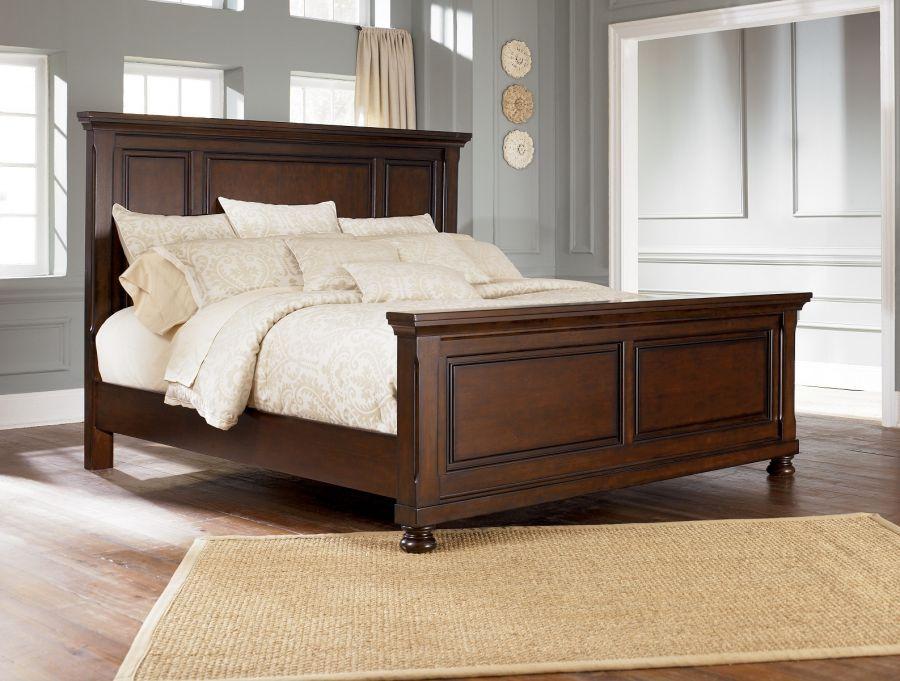 деревянная кровать Тесла двуспальные кровати мебель