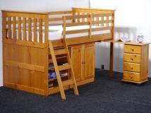 кровать чердак Орлеан